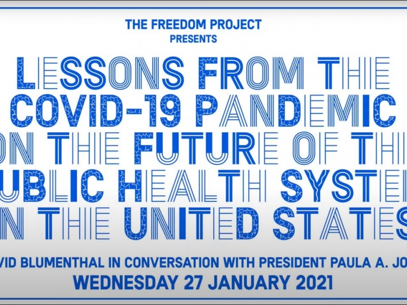 Lessons From The Covid-19 Pandemic On The Future Of The Public Health System In The United States