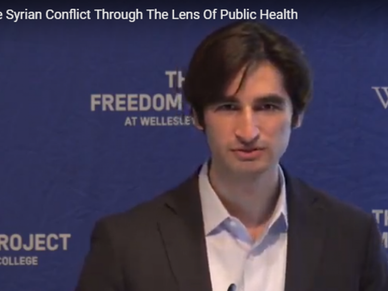 The Syrian Conflict Through The Lens Of Public Health