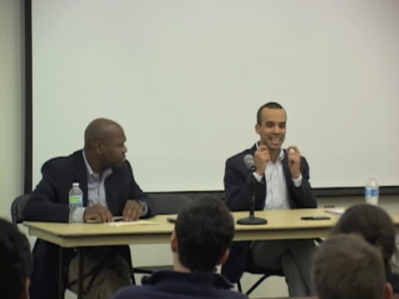 """""""Author Meets Critic"""" A Debate on Whether Liberals Are Making it Harder for Blacks to Succeed"""